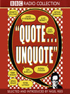 Quote Unquote (MP3)